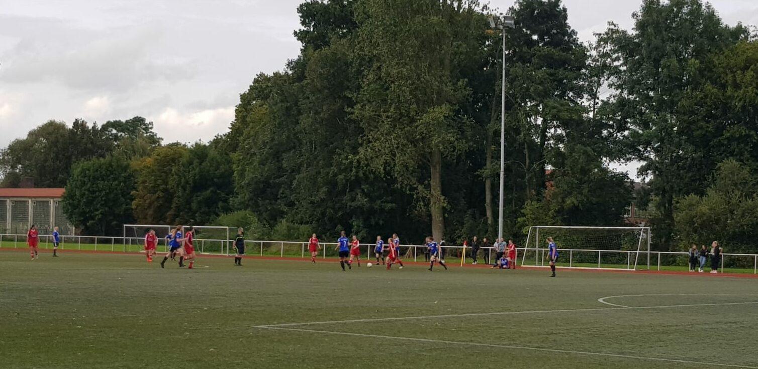 Heimspiel gegen den FC FW Zetel